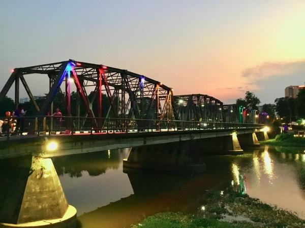 チェンマイのレック橋