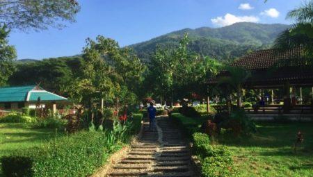 チェンライのパートゥン温泉