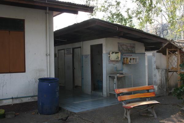 ワット・チェンマンのトイレ