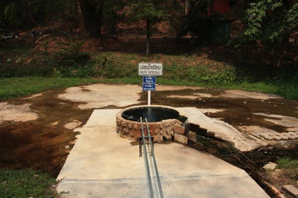 サイカオ温泉の温泉井戸