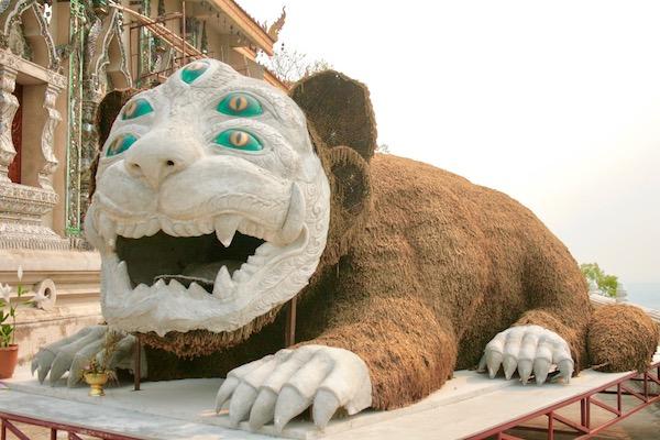チェンライの伝説の珍獣