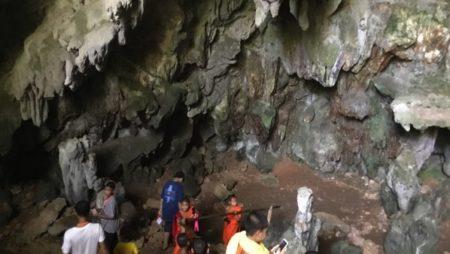 タムルアン洞窟観光