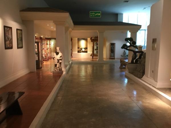 メーファールアン財団のアヘン博物館の館内