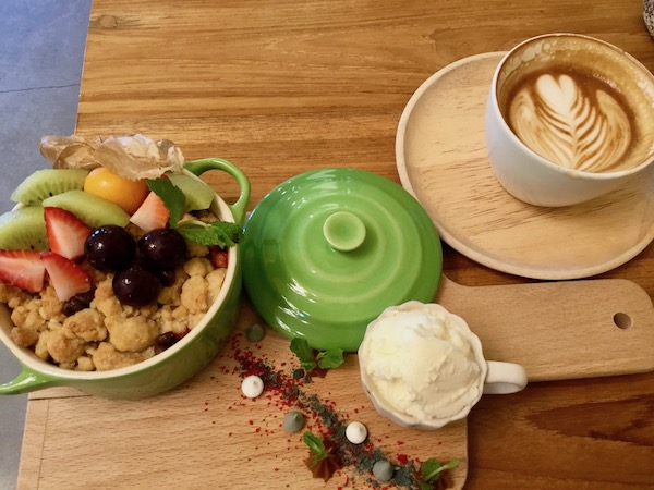 Jardin d'ete Gelato and Dessert Cafe by Suan Paakのスイーツ