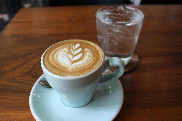 ナタワット ホームカフェのカフェラテ