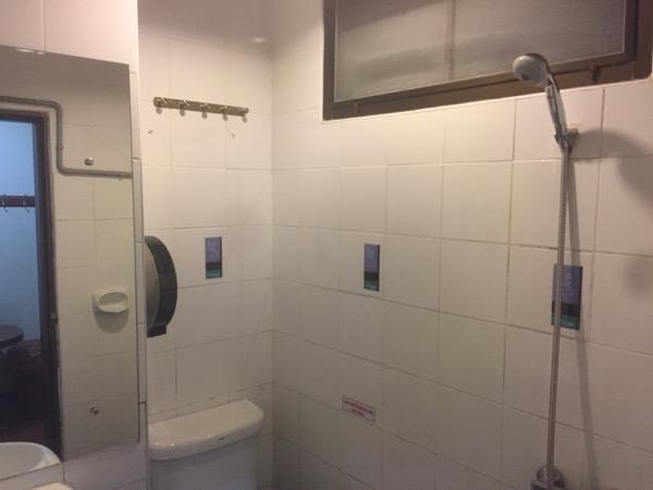 BLUE LAGOON HOTELのシャワールーム