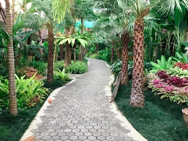 ラルーナホテルリゾートチェンライの敷地