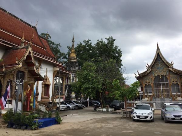 Iチェンマイのムーンサーン寺院