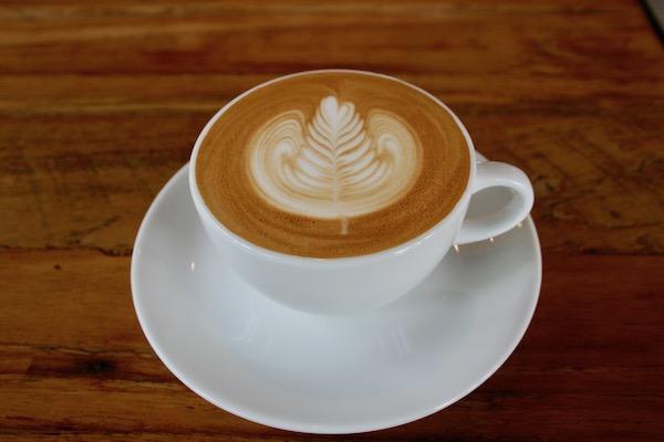 Thor Phan Coffee Roasterのカフェラテ