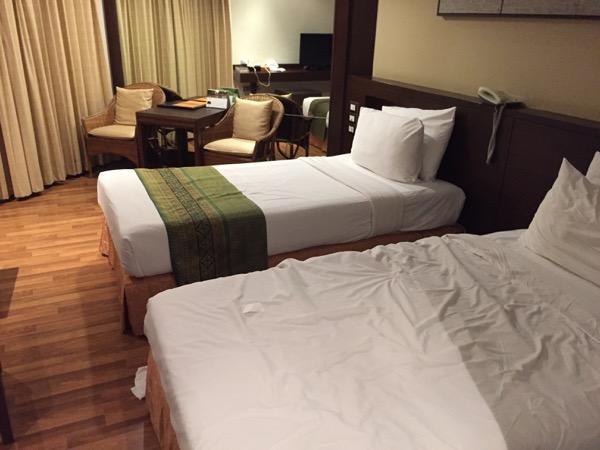 ウィアン イン ホテルのベット