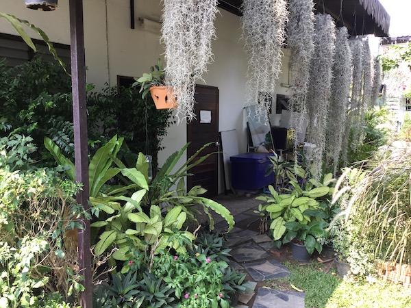 ナタワット ホームカフェの裏の入り口