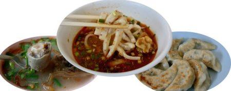 【ロットディー】もちもち食感がやみつき餅麺カオソーイと雲南餃子