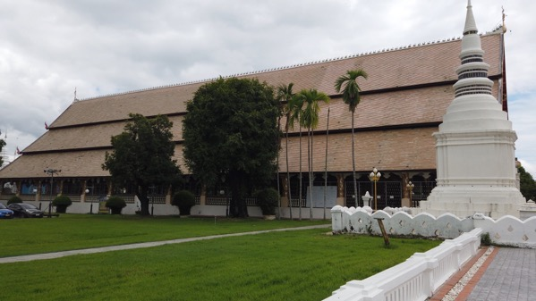 スワンドーク中央礼拝堂側面