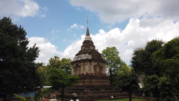 ティローカラート王遺灰が納められている仏塔