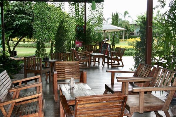 Parinda GardenのWIFIが使える席