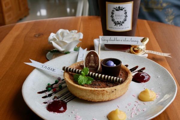 グラダートカフェのケーキ