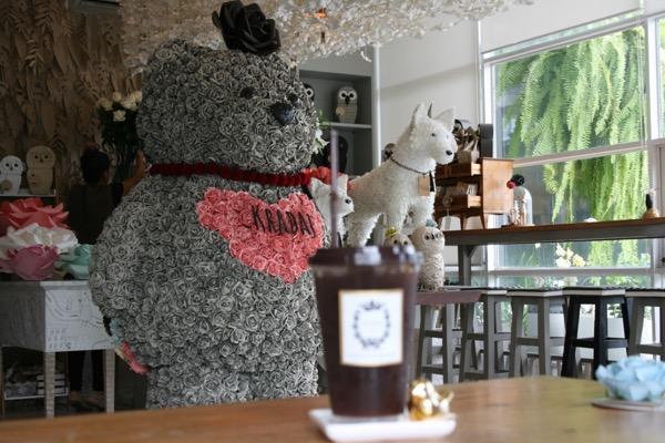 グラダートカフェのアイスコーヒー