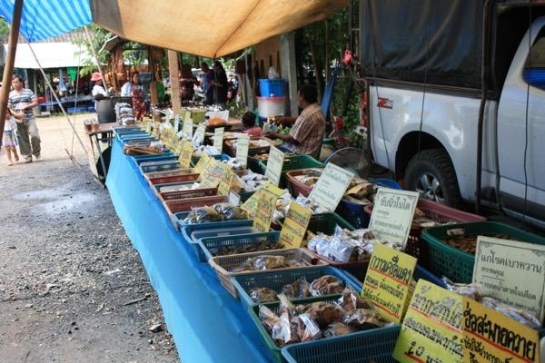 サパトーン市場で売っているハーブ茶