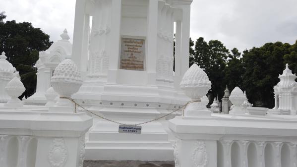 墓跡の立ち入り禁止