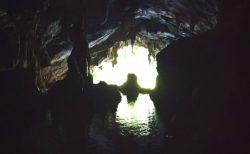 タムロート洞窟の洞窟内の写真