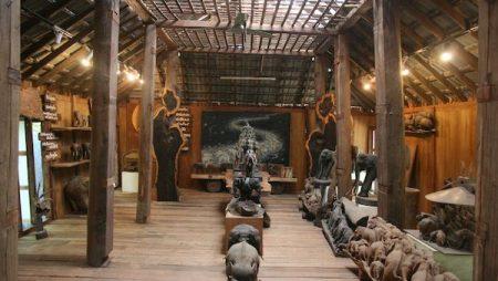 チェンマイの木彫り象博物館【Baan Jang Nak】