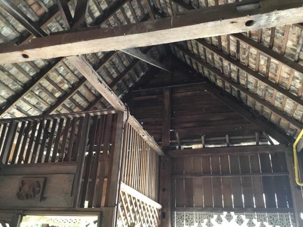 フアン・ジャイ・ヨーンの2階天井