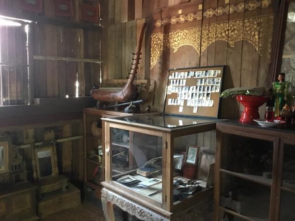 フアン・ジャイ・ヨーンの2階の調度品