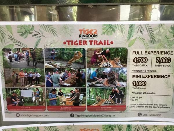 タイガーキングダム:トライアル料金