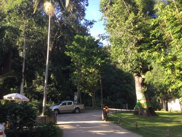 Baan Suan Ka Feの駐車場