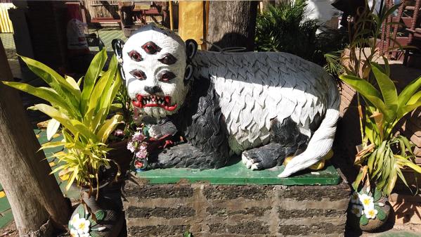 ワットジェットリンに祀られている伝説の珍獣シーフーハーター
