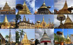 タイの十二支仏塔巡礼