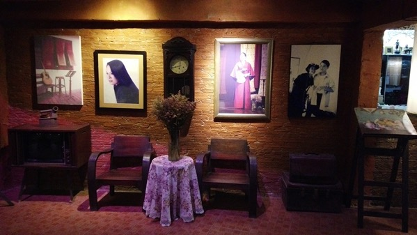 スントゥリーさんの記念館に展示されている写真