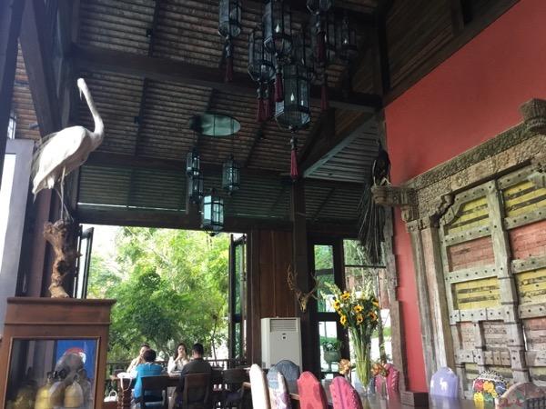 チャントラキーリー・シャレー・チェンマイの店内