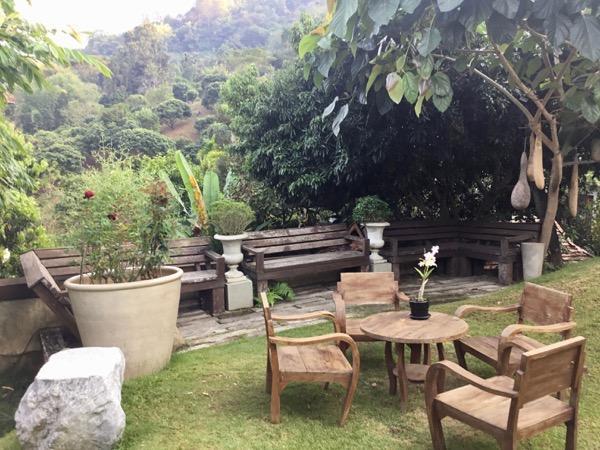 チャントラキーリー・シャレー・チェンマイの庭席