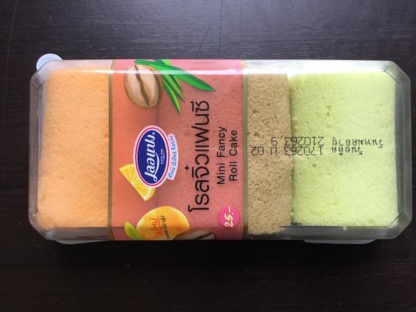 ミニファンシーロールケーキのパッケージ
