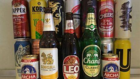 タイのコンビニのビール20種類試飲レビュー!タイのクラフトビールやプレミアムビールの商品情報