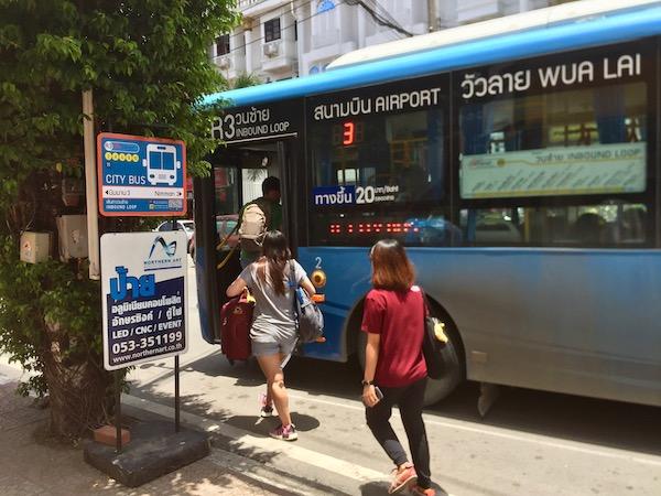 RTC Chiang Mai City Bus乗り場