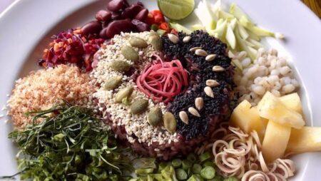 タイのライスサラダ【カオヤム】の食材とレシピの解説