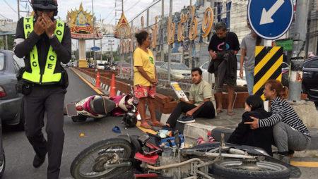 タイの交通ルールとタイ人の運転特性を知って交通事故を防ぐ