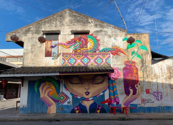 サワンカロークのストリートアート 1