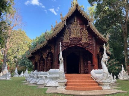 チェンマイの秘境寺