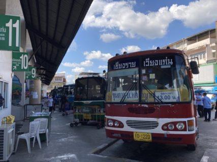 チェンライバスターミナル1情報 路線バスの運行ルート一覧