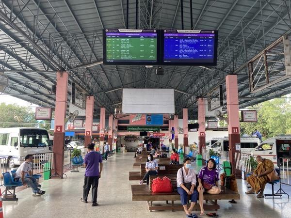 プレー県のバスターミナル