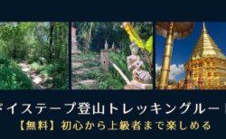 ドイステープ登山トレッキングルートで歩いてドイステープ寺院!